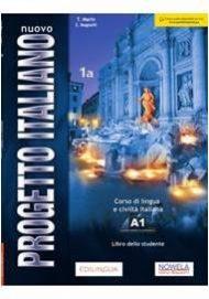 Okładka podręcznikaNuovo Progetto italiano NEW