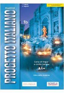 Okładka podręcznikaNuovo Progetto italiano NEW 1B